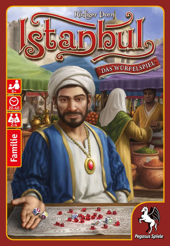 Istanbul dice - Board Games Master Australia | KIds | Familiy | Adults | Party | Online | Strategy Games | New Release