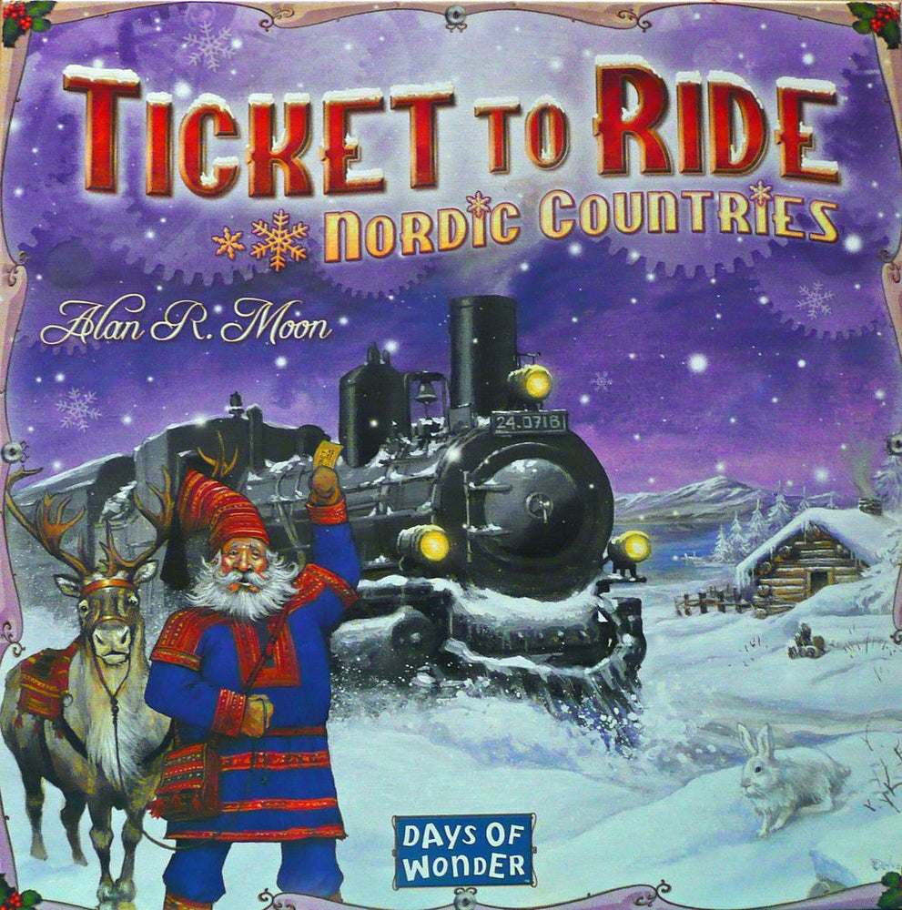 Ticket to Ride Nordic Countries - Board Games Master Australia | KIds | Familiy | Adults | Party | Online | Strategy Games | New Release