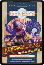 【Pre-Order】Keyforge Genesys - Secrets of the Crucible Mutant Invasion