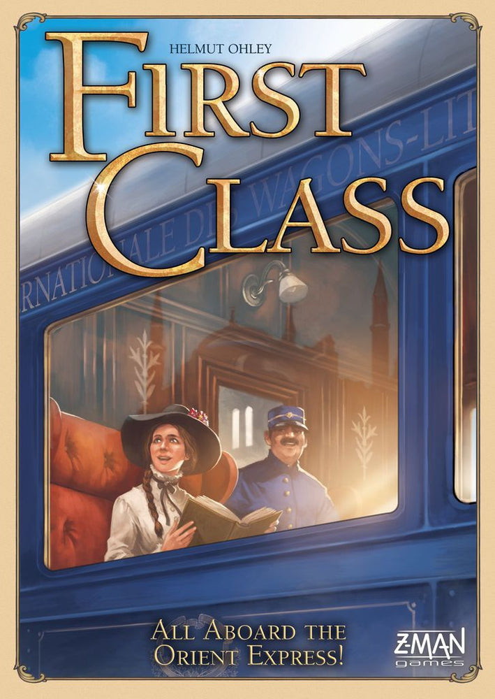 First Class a Journey on the Orient Ex - Board Games Master Australia | KIds | Familiy | Adults | Party | Online | Strategy Games | New Release