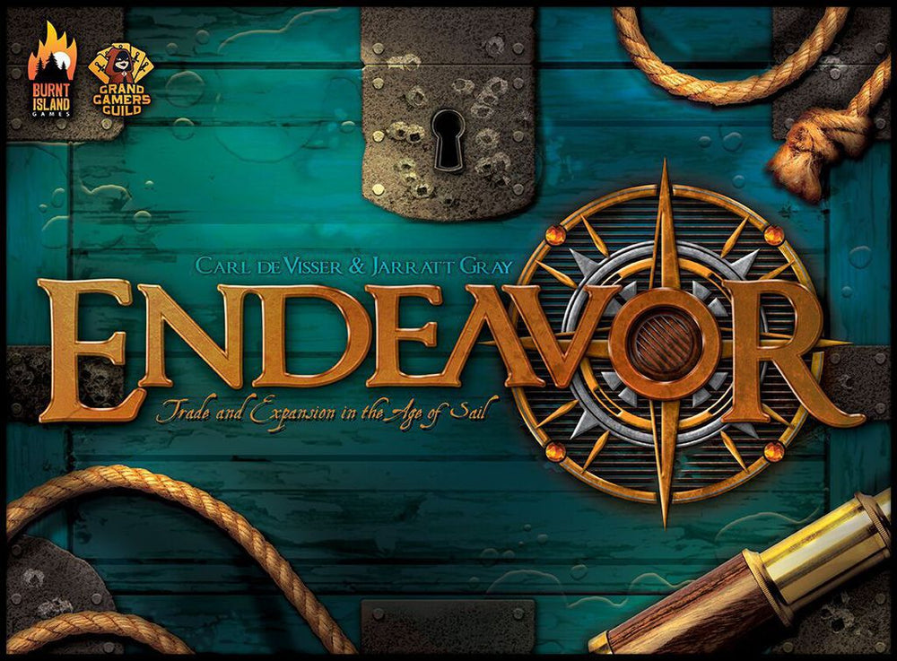 Endeavor Age of Sail - Board Games Master Australia | KIds | Familiy | Adults | Party | Online | Strategy Games | New Release