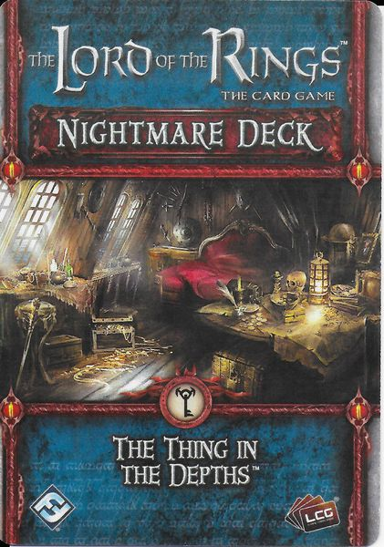 The Lord of the Rings The Card Game – Nightmare Deck The Thing in the Depths