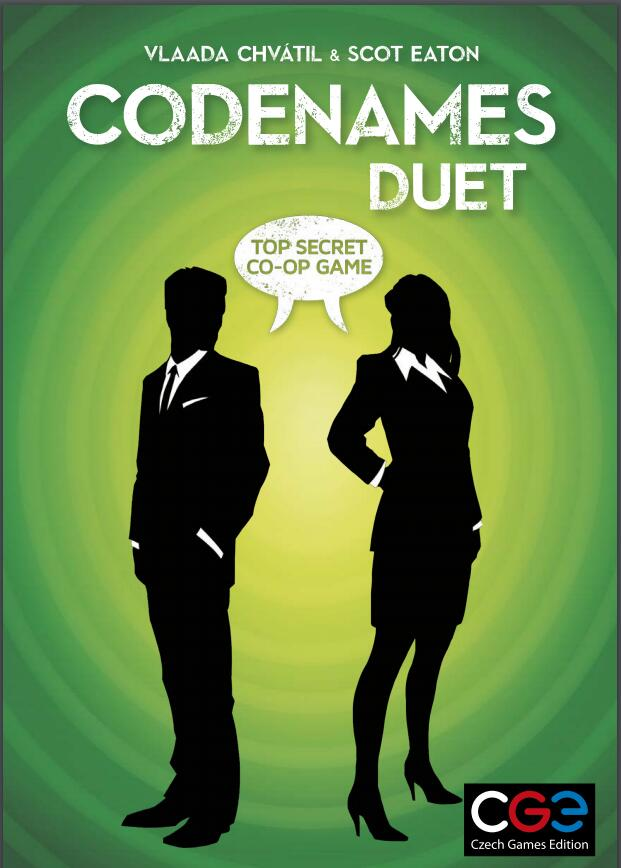Codenames Duet - Board Games Master Australia | KIds | Familiy | Adults | Party | Online | Strategy Games | New Release