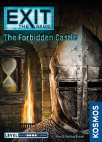 Exit the Game the Forbidden Castle - Board Games Master Australia | KIds | Familiy | Adults | Party | Online | Strategy Games | New Release