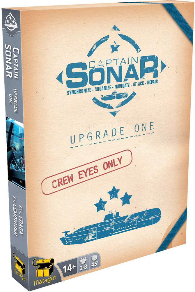 Captain Sonar Upgrade One - Board Games Master Australia | KIds | Familiy | Adults | Party | Online | Strategy Games | New Release