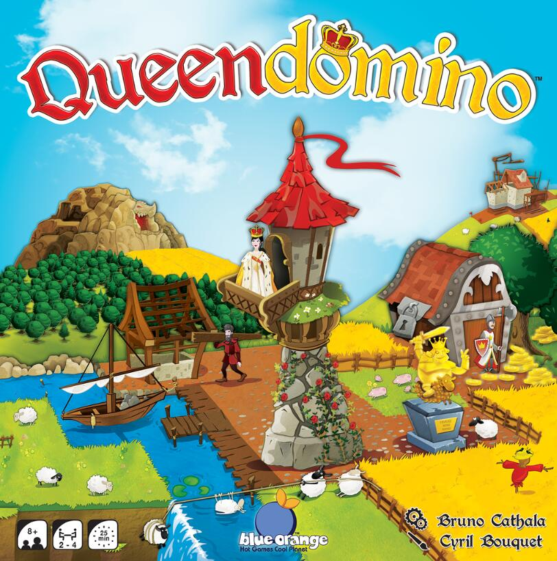 Queendomino - Board Games Master Australia | KIds | Familiy | Adults | Party | Online | Strategy Games | New Release