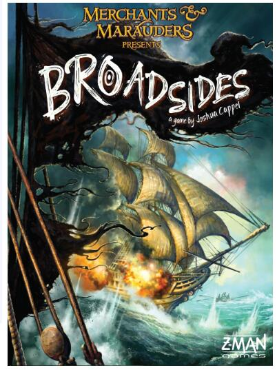 Merchants & Marauders Broadsides - Board Games Master Australia | KIds | Familiy | Adults | Party | Online | Strategy Games | New Release