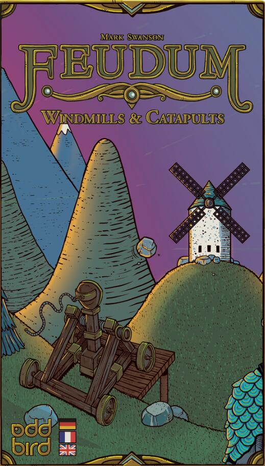 Feudum: Windmills & Catapults (expansion) - Board Games Master Australia | KIds | Familiy | Adults | Party | Online | Strategy Games | New Release