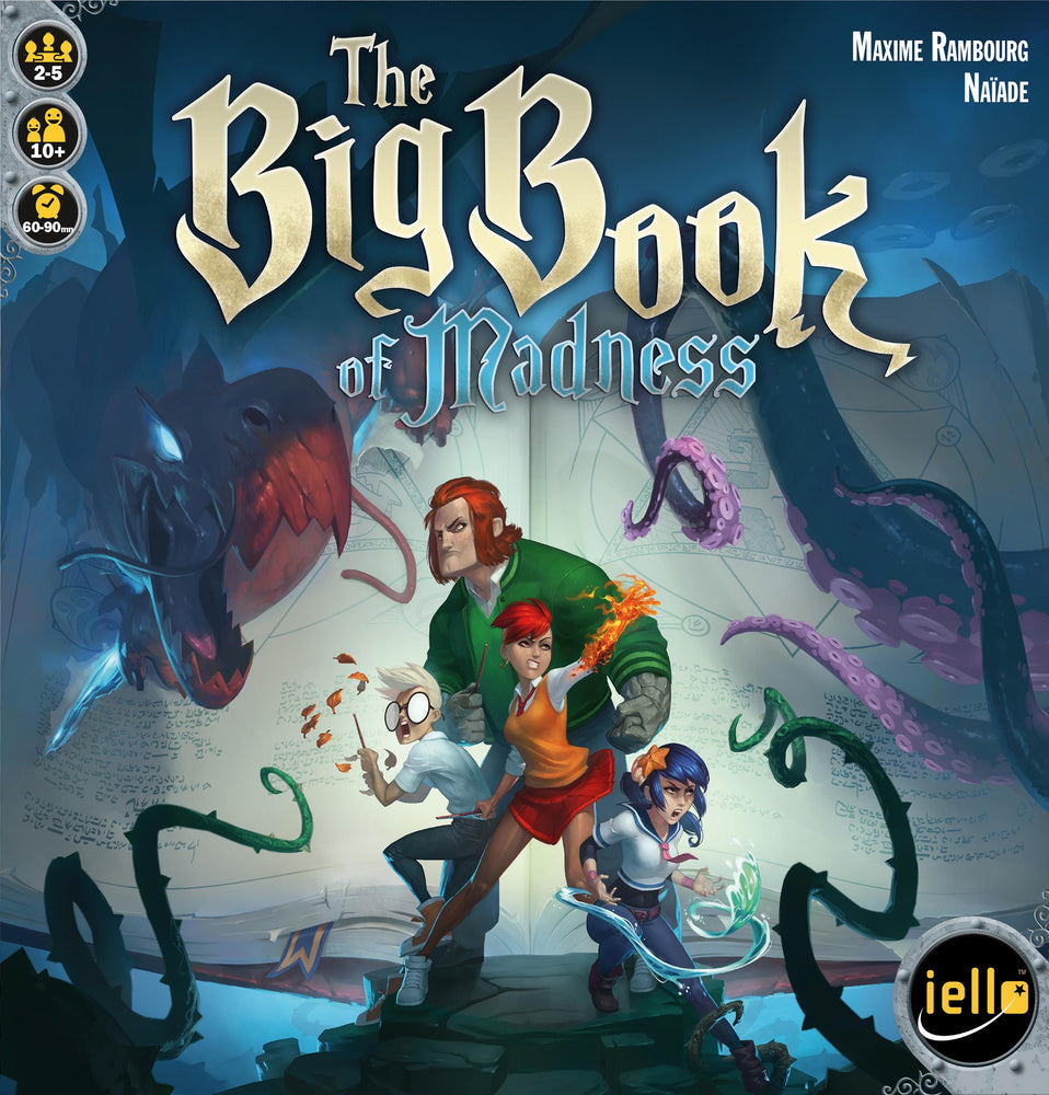 The Big Book of Madness - Board Games Master Australia | KIds | Familiy | Adults | Party | Online | Strategy Games | New Release