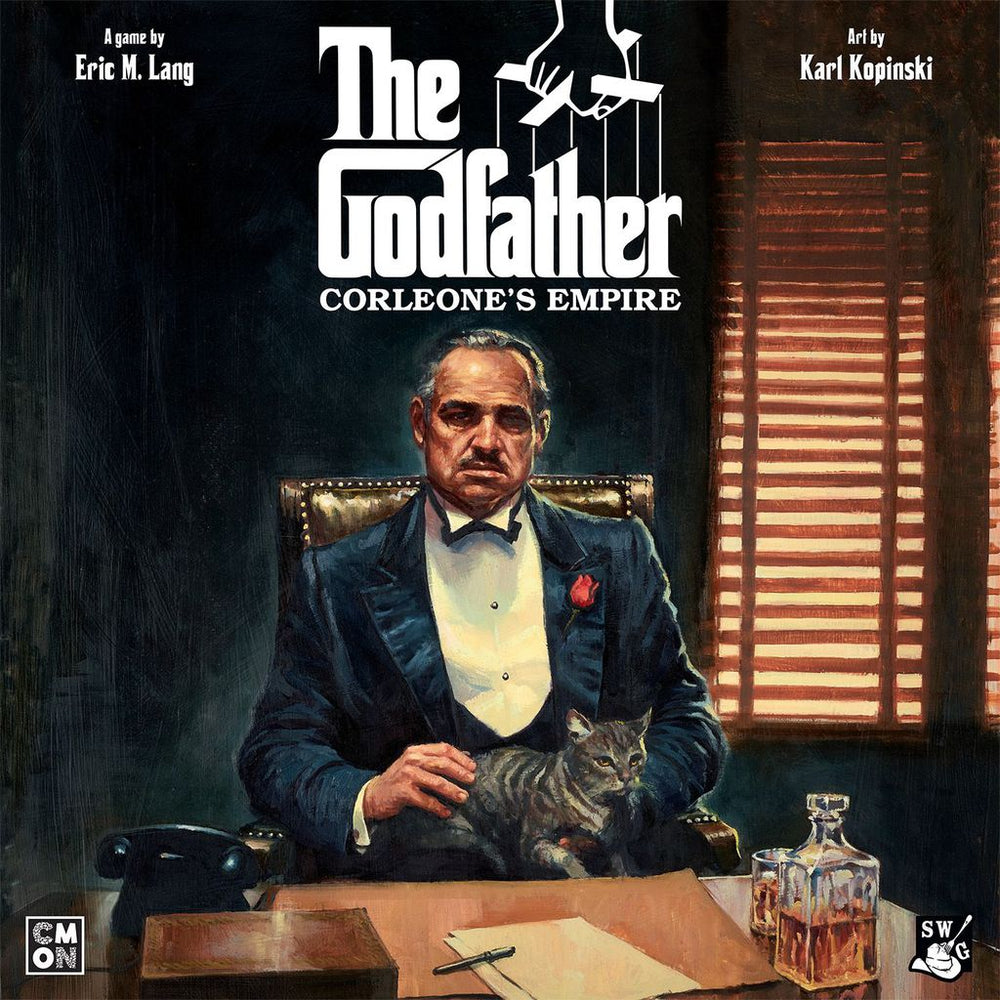The Godfather Corleone's Empire - Board Games Master Australia | KIds | Familiy | Adults | Party | Online | Strategy Games | New Release