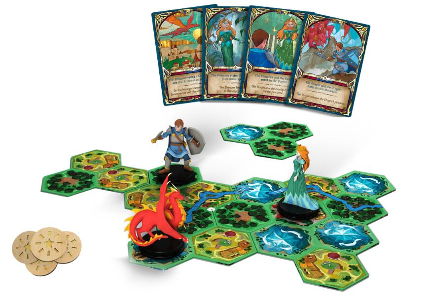 Fairy Tile - Board Games Master Australia | KIds | Familiy | Adults | Party | Online | Strategy Games | New Release