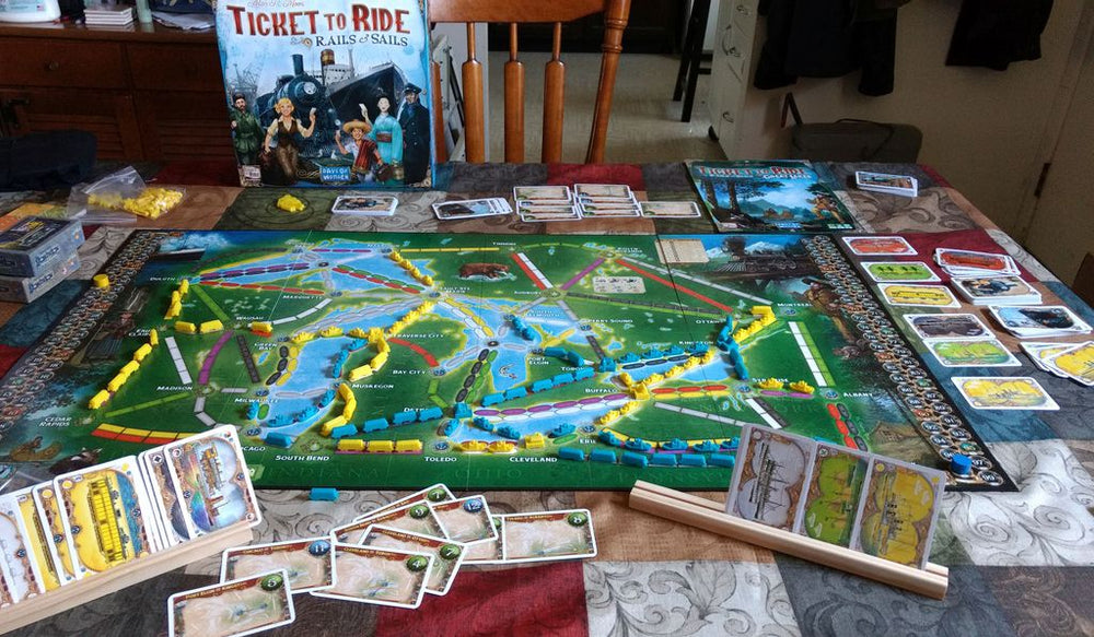 Ticket to Ride Rails & Sails - Board Games Master Australia | KIds | Familiy | Adults | Party | Online | Strategy Games | New Release