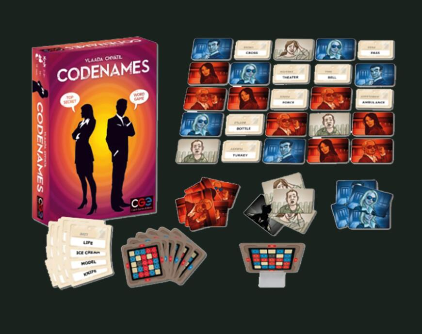 Codenames - Board Games Master Australia | KIds | Familiy | Adults | Party | Online | Strategy Games | New Release