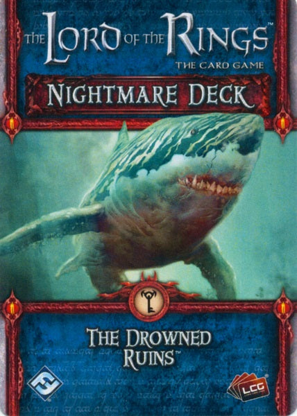 The Lord of the Rings The Card Game – Nightmare Deck The Drowned Ruins