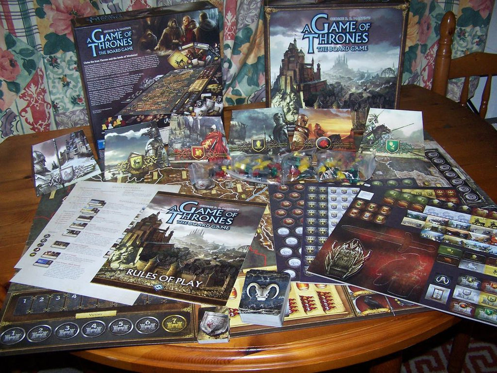 A Game of Thrones The Board Game Second Edition - Board Games Master Australia | KIds | Familiy | Adults | Party | Online | Strategy Games | New Release