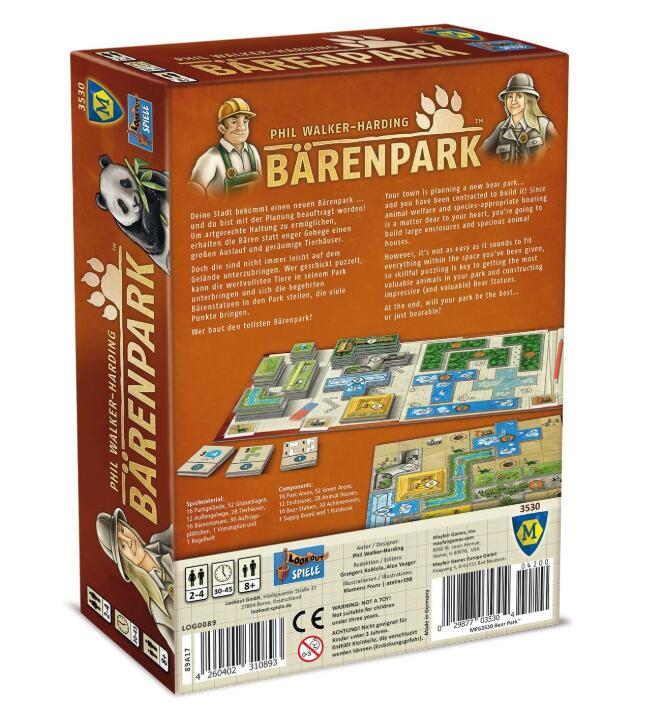 Barenpark - Board Games Master Australia | KIds | Familiy | Adults | Party | Online | Strategy Games | New Release