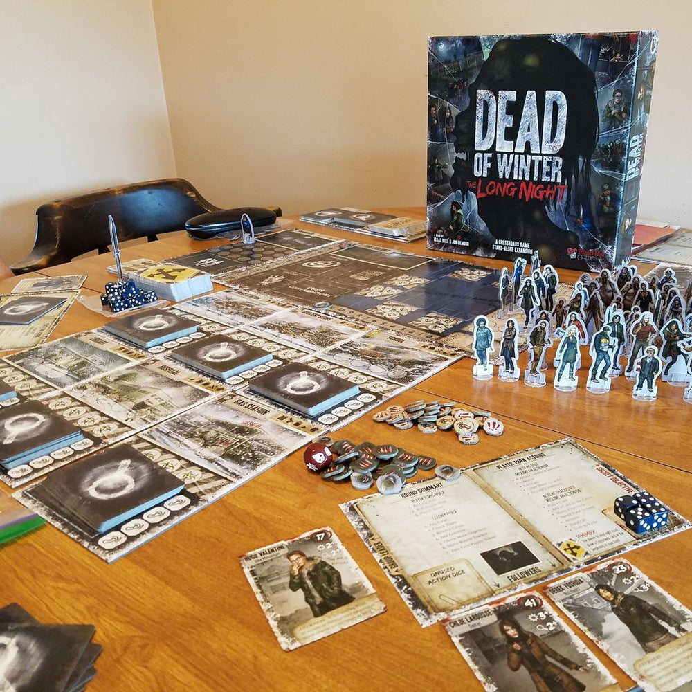 Dead of Winter the Long Night - Board Games Master Australia | KIds | Familiy | Adults | Party | Online | Strategy Games | New Release
