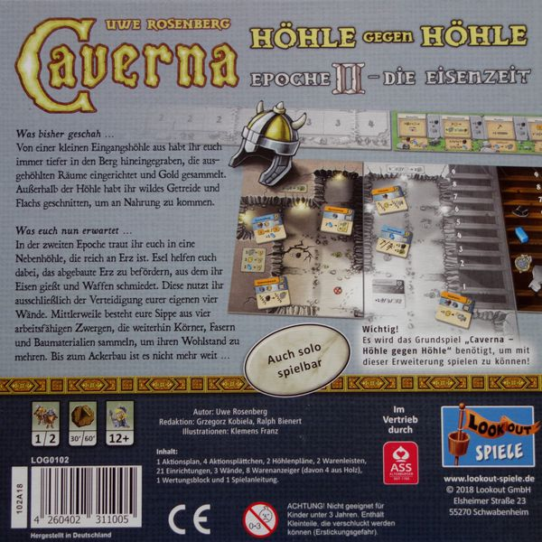 Caverna - Cave vs Cave 2nd Era Expansion