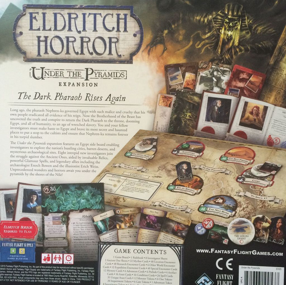 Eldritch Horror Under Pyramid - Board Games Master Australia | KIds | Familiy | Adults | Party | Online | Strategy Games | New Release