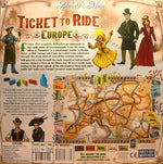 Ticket to Ride Europe - Board Games Master Australia | KIds | Familiy | Adults | Party | Online | Strategy Games | New Release