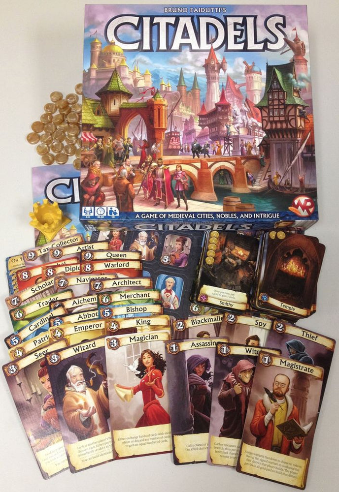 Citadels - Board Games Master Australia | KIds | Familiy | Adults | Party | Online | Strategy Games | New Release