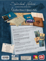 Sherlock Holmes Consulting Detective Carlton House & Queen's Park - Board Games Master Australia | KIds | Familiy | Adults | Party | Online | Strategy Games | New Release