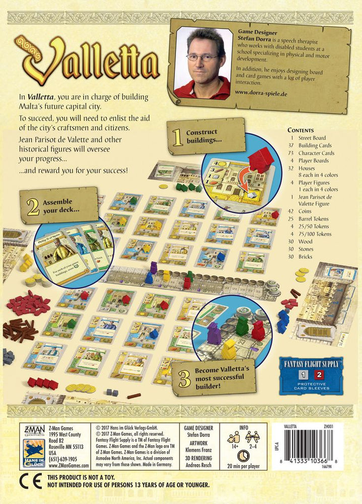 Valletta - Board Games Master Australia | KIds | Familiy | Adults | Party | Online | Strategy Games | New Release