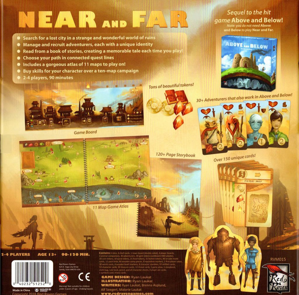 Near and Far - Board Games Master Australia | KIds | Familiy | Adults | Party | Online | Strategy Games | New Release