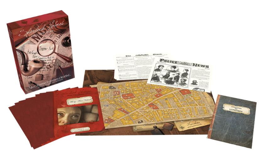 Sherlock Holmes Consulting Detective Jack the Ripper & West End Adventures - Board Games Master Australia | KIds | Familiy | Adults | Party | Online | Strategy Games | New Release