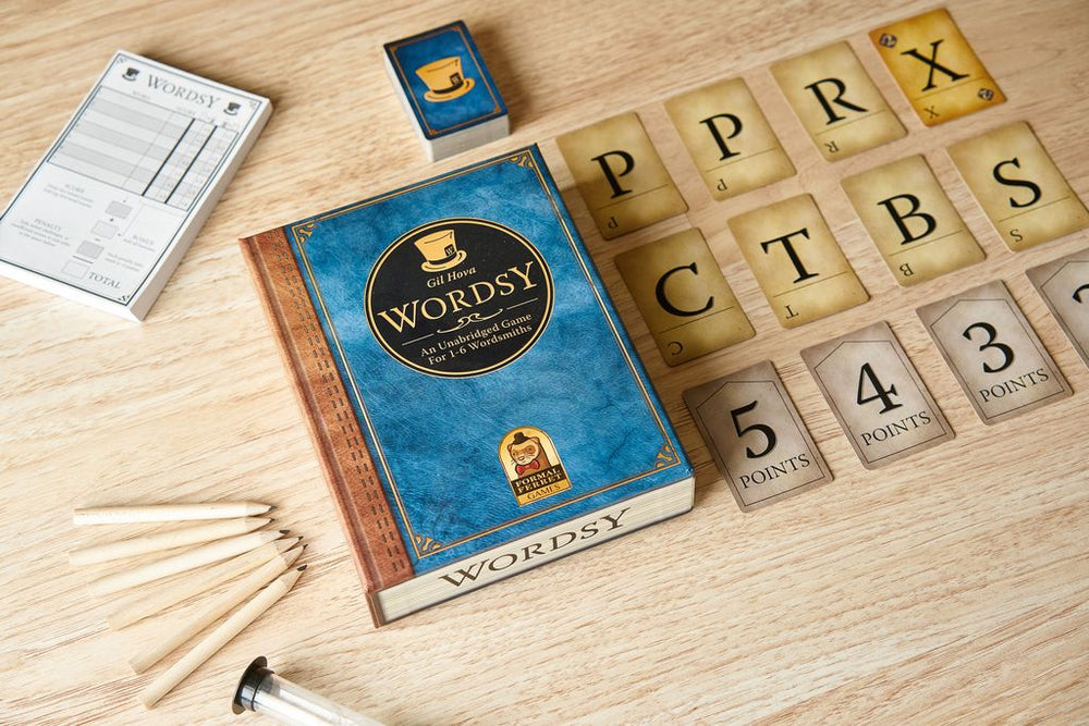 Wordsy - Board Games Master Australia | KIds | Familiy | Adults | Party | Online | Strategy Games | New Release