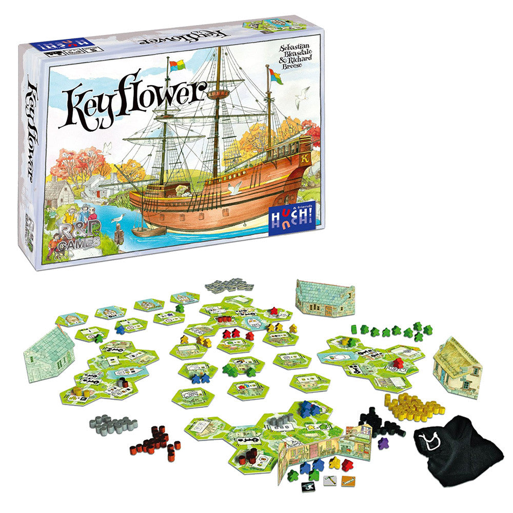 Keyflower - Board Games Master Australia | KIds | Familiy | Adults | Party | Online | Strategy Games | New Release