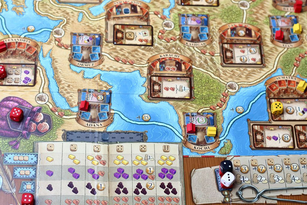 The Voyages of Marco Polo Agents of Venice - Board Games Master Australia | KIds | Familiy | Adults | Party | Online | Strategy Games | New Release