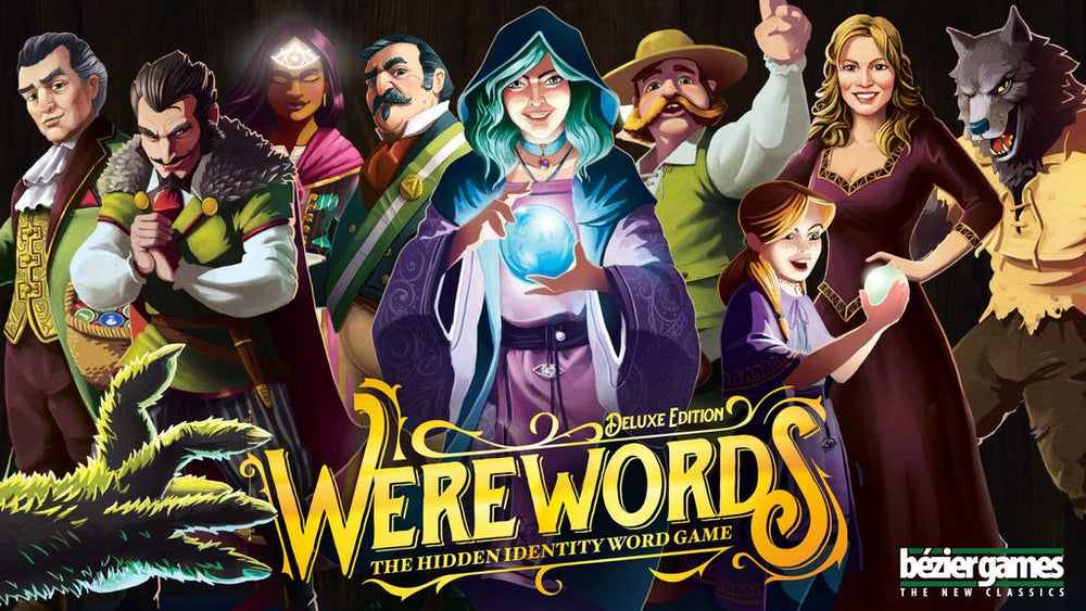 Werewords Deluxe Edition - Board Games Master Australia | KIds | Familiy | Adults | Party | Online | Strategy Games | New Release