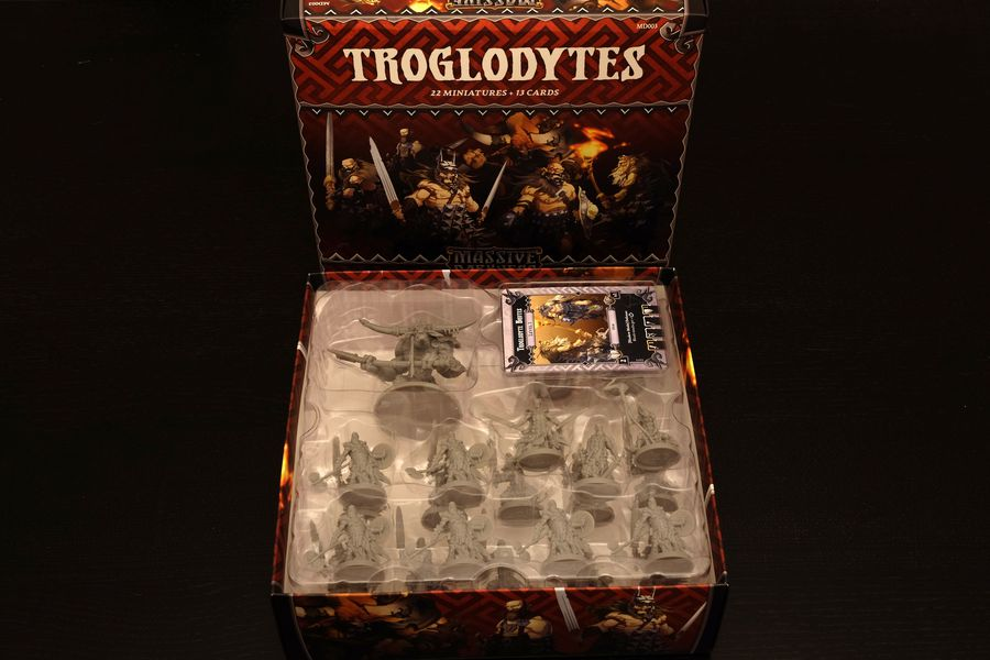 Massive Darkness Enemy Box Troglodytes