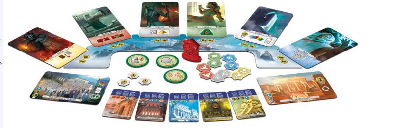 7 Wonders Duel Pantheon - Board Games Master Australia | KIds | Familiy | Adults | Party | Online | Strategy Games | New Release