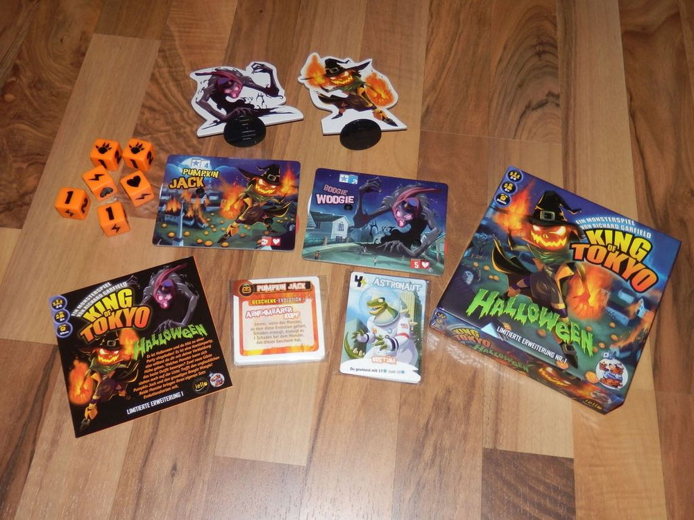 King of Tokyo Halloween - Board Games Master Australia | KIds | Familiy | Adults | Party | Online | Strategy Games | New Release
