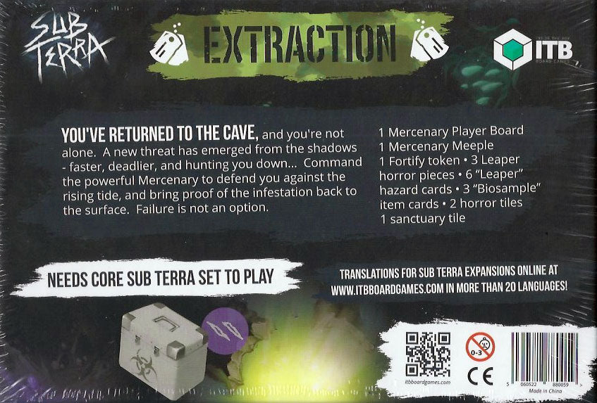 Sub Terra Extraction Expansion