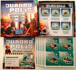 Quadropolis Public Services - Board Games Master Australia | KIds | Familiy | Adults | Party | Online | Strategy Games | New Release
