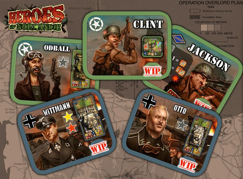 Heroes of Normandie Core Box - Board Games Master Australia | KIds | Familiy | Adults | Party | Online | Strategy Games | New Release