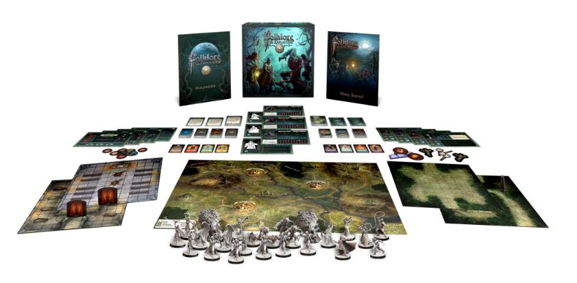 Folklore The Affliction - Board Games Master Australia | KIds | Familiy | Adults | Party | Online | Strategy Games | New Release
