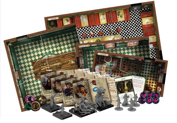 Mansions of Madness Streets of Arkham - Board Games Master Australia | KIds | Familiy | Adults | Party | Online | Strategy Games | New Release