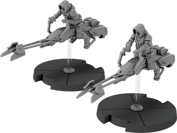Star Wars Legion 74-Z Speeder Bikes Imperial Expansion