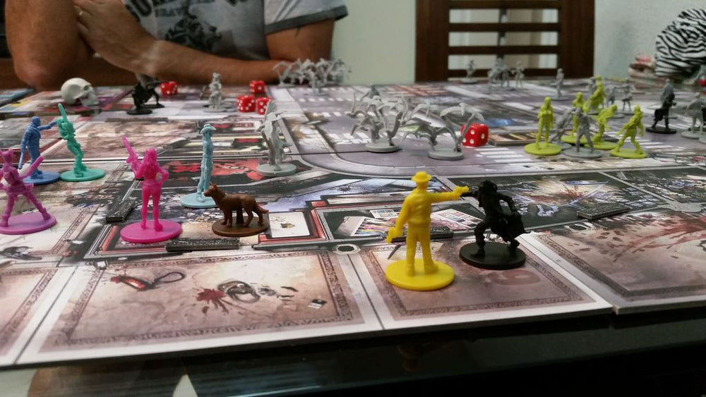 Zombicide Angry Neighbors - Board Games Master Australia | KIds | Familiy | Adults | Party | Online | Strategy Games | New Release