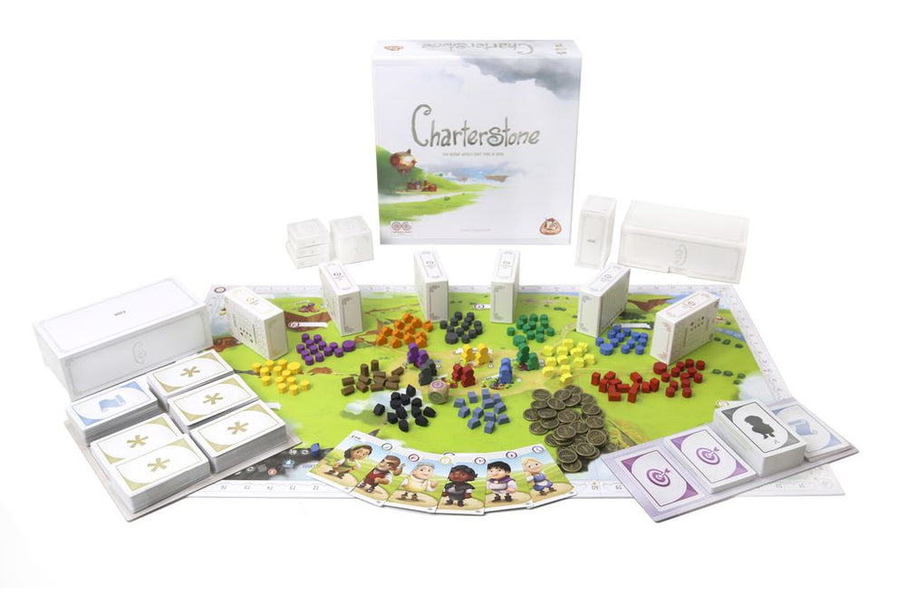 Charterstone - Board Games Master Australia | KIds | Familiy | Adults | Party | Online | Strategy Games | New Release