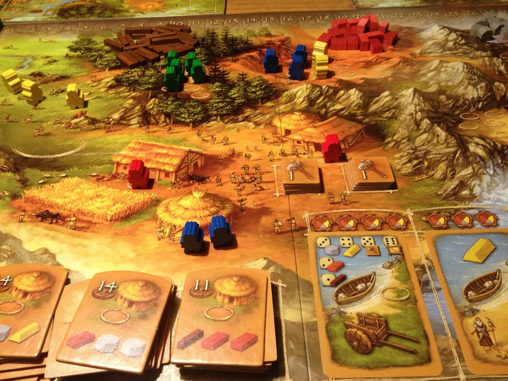 Stone Age - Board Games Master Australia | KIds | Familiy | Adults | Party | Online | Strategy Games | New Release