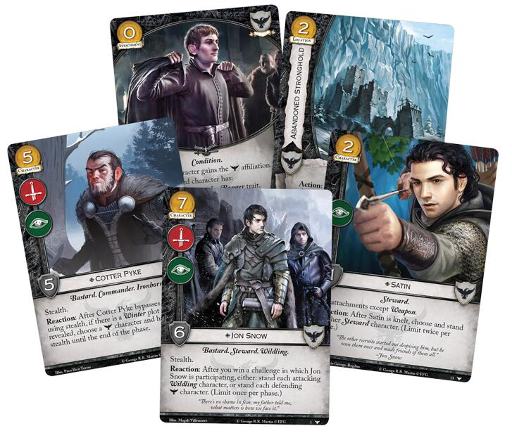 A Game of Thrones LCG Watchers on the Wall Deluxe Expansion - Board Games Master Australia | KIds | Familiy | Adults | Party | Online | Strategy Games | New Release