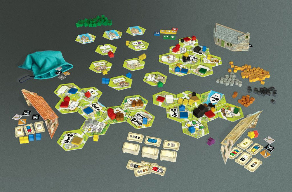 Keyflower The Merchants - Board Games Master Australia | KIds | Familiy | Adults | Party | Online | Strategy Games | New Release