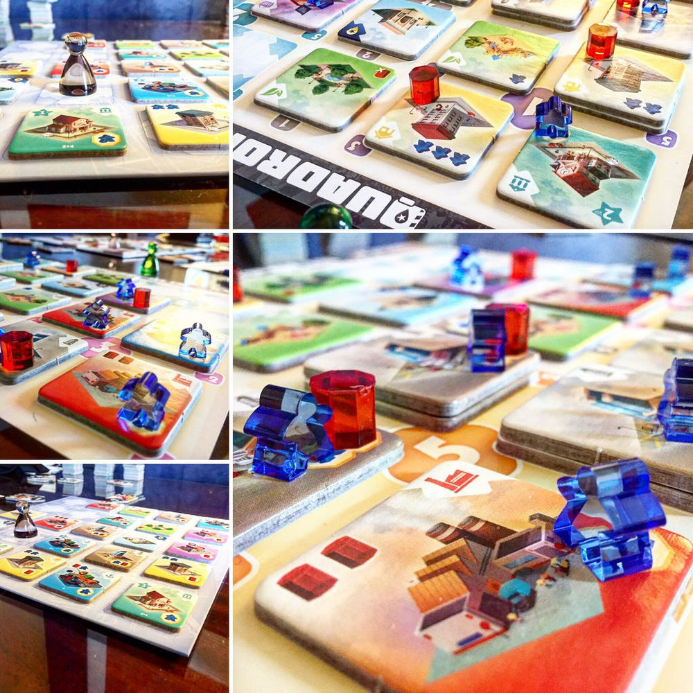 Quadropolis - Board Games Master Australia | KIds | Familiy | Adults | Party | Online | Strategy Games | New Release