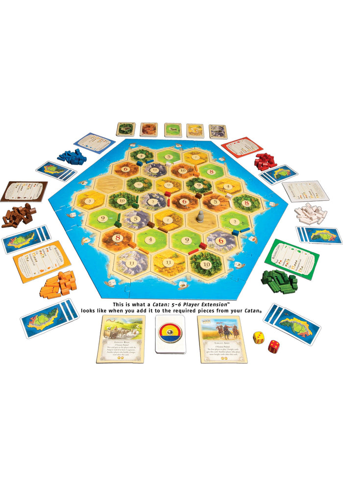 Catan 5-6 Player Extension - Board Games Master Australia | KIds | Familiy | Adults | Party | Online | Strategy Games | New Release