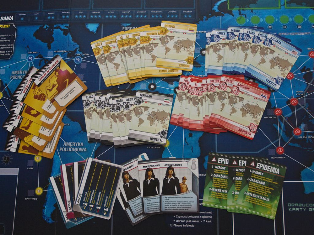 Pandemic Legacy Season 1 (Blue Edition) - Board Games Master Australia | KIds | Familiy | Adults | Party | Online | Strategy Games | New Release